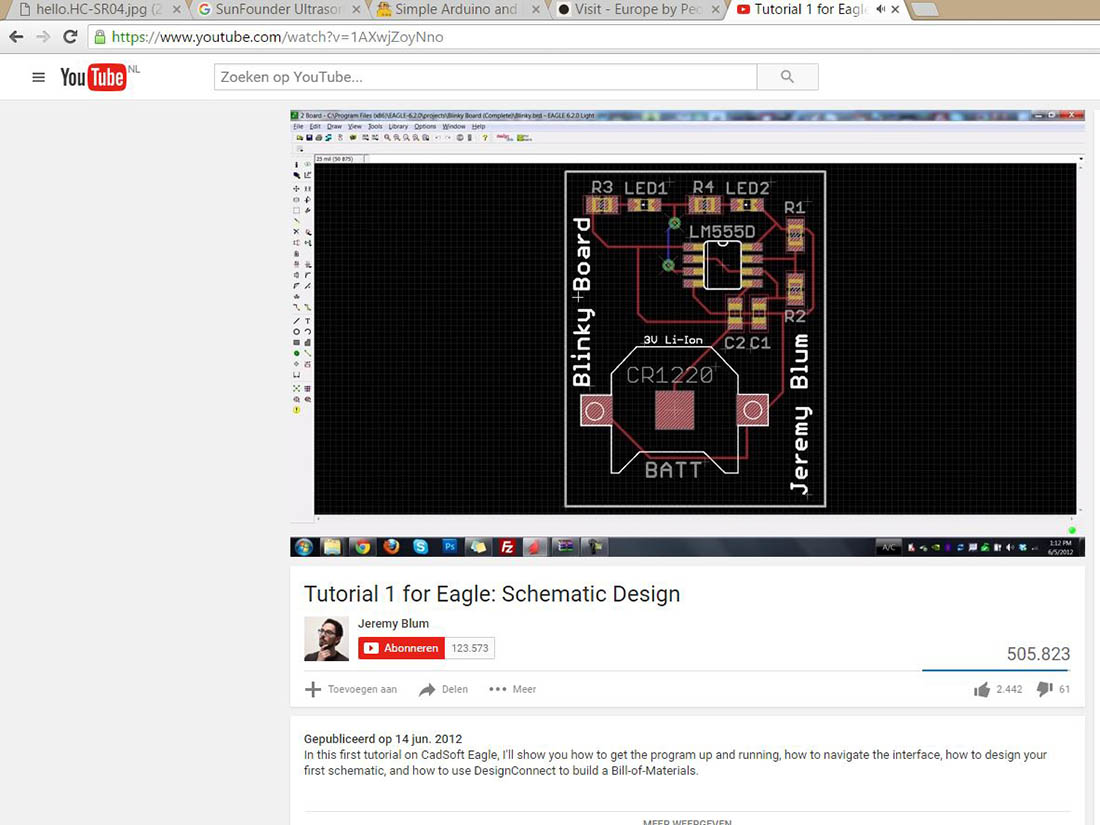 Sebastiaan Fabacademy Website What Is A Printed Circuit Board Soldering Youtube 2016 Car Release I Imported The Headers In Schematic Of Eagle Connected Pins All Gnd And Vcc Where On Two Seperate Lines