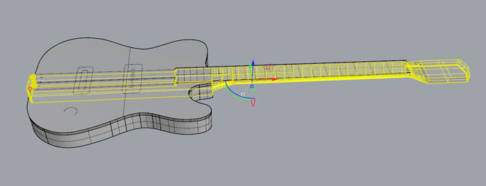 Like I Said Above Wanted To Use This Week For Milling The Neck Of My Blues Guitar Its A Two Side And Process Is Quite Complex