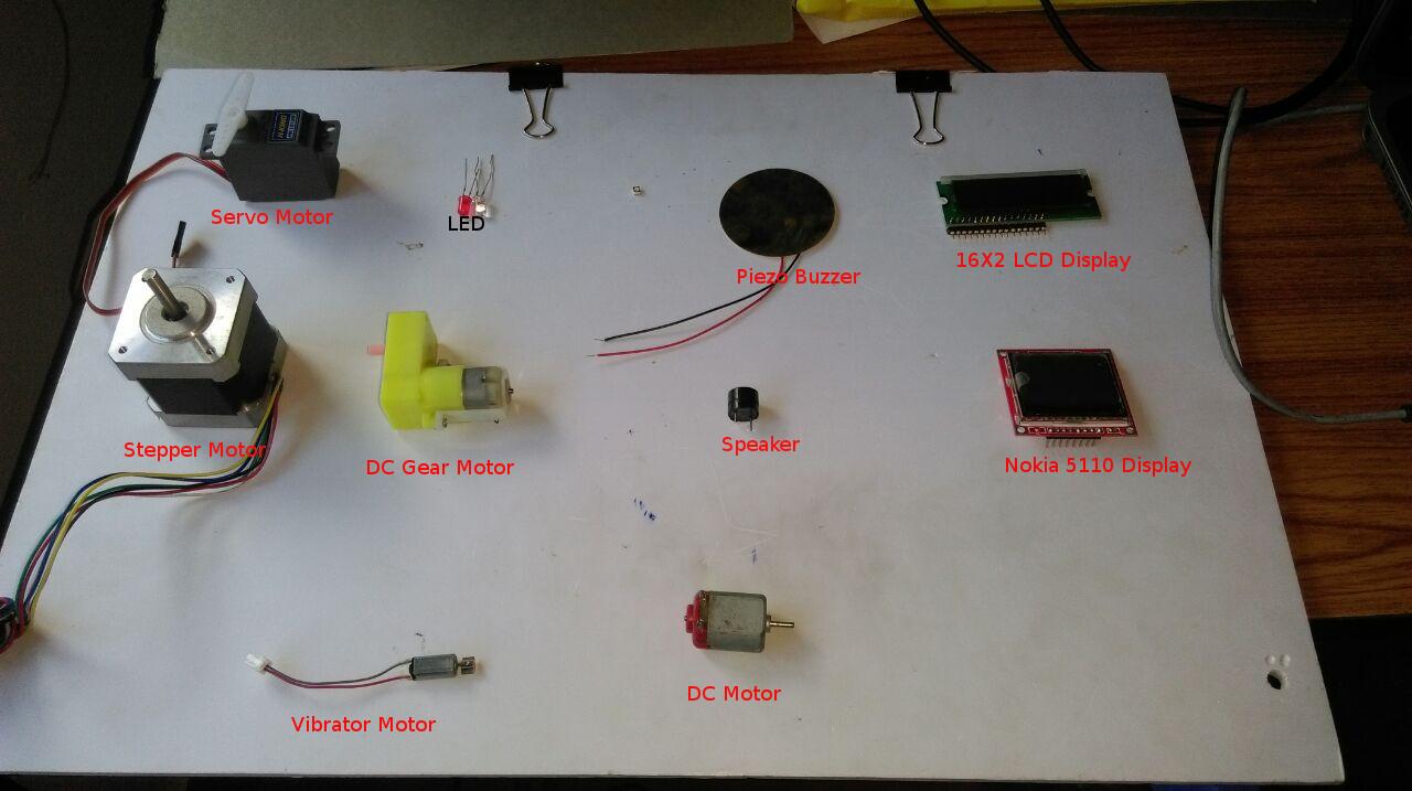 Output Devices Piezo Sounder Circuit
