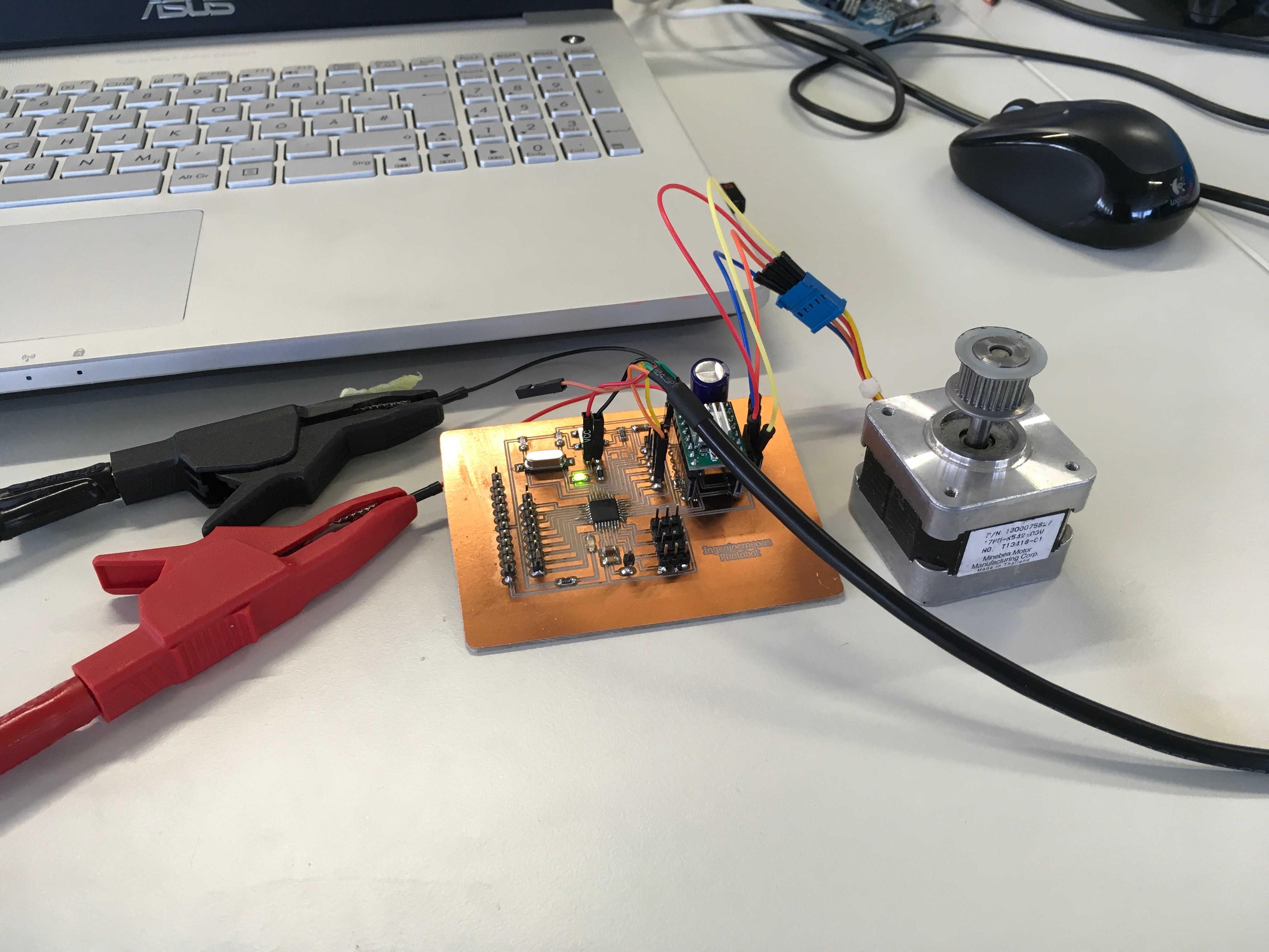 Fab academy 2017 j rn kiwitt for How to test stepper motor