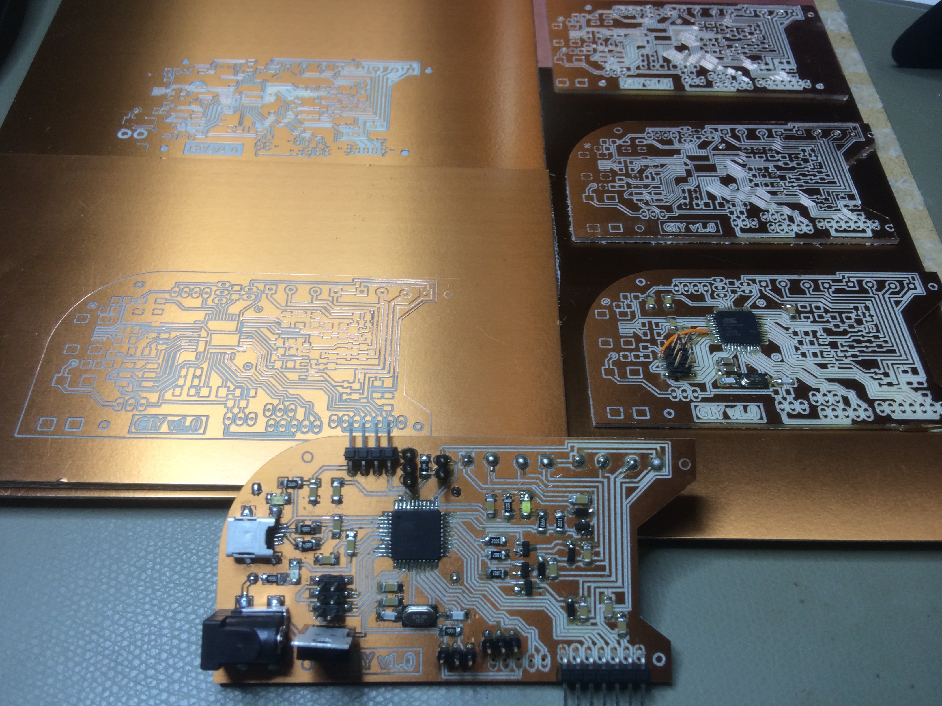 Albot Dima Fab Academy 2017 Professional Avr Experiment Board Usb Isp Programmer Circuit Sprint A Hero Picture For Those Who May Think That It Was Easy And Everything Went Smooth D