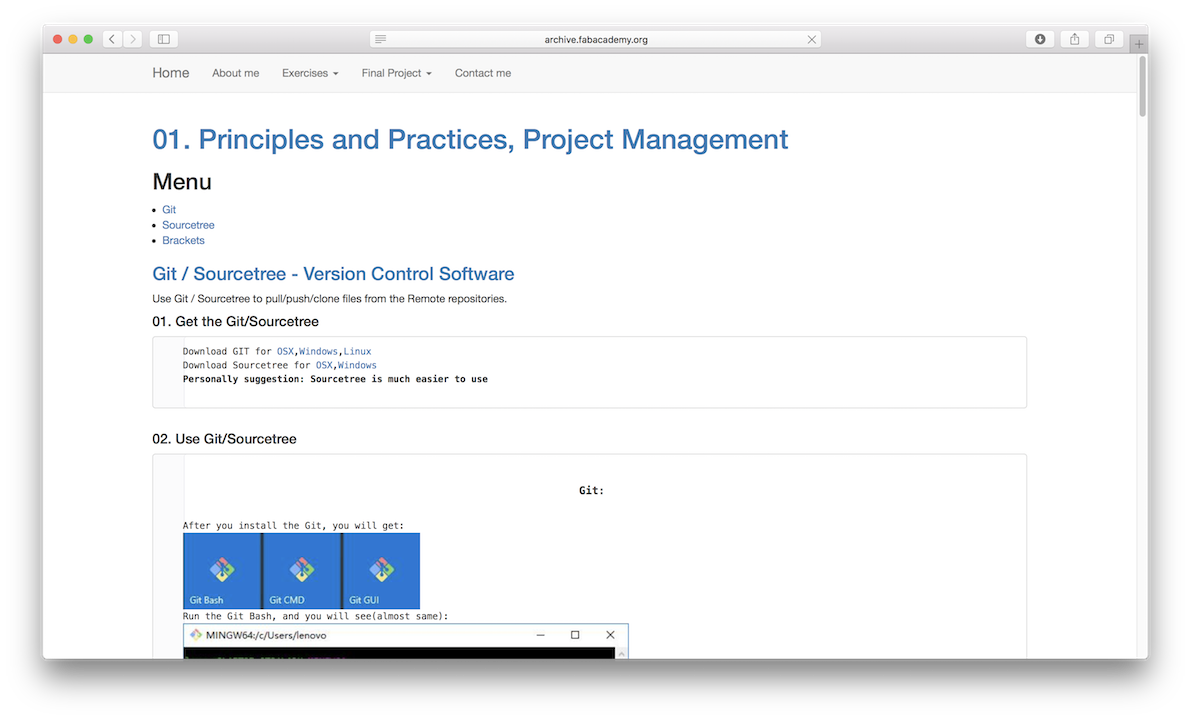 01  Principles and Practices, Project Management