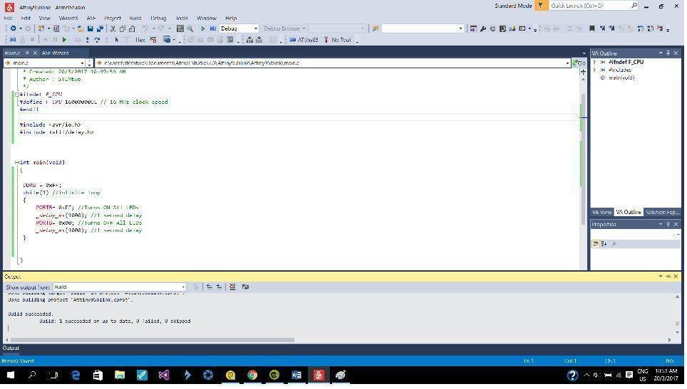 Embedded programming Assignment Read a microcontroller