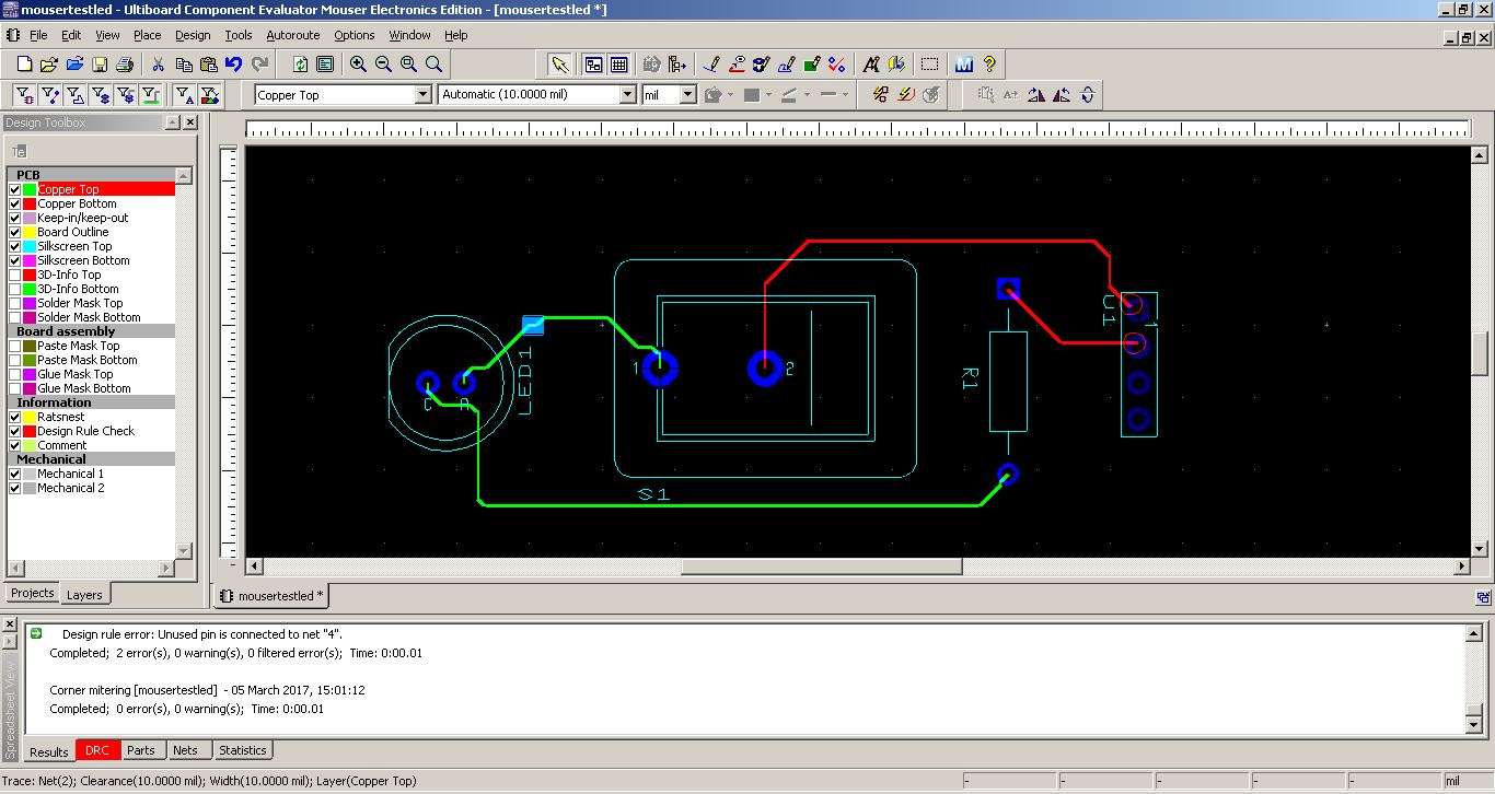 Fab Academy 2017 Jim Seelan Electronics Circuit Diagrams Archive Free Projects For Hobbyists Wired Pcb Using Ultiboard