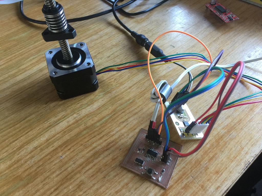 Fabacademy 2017 Denis Terwagne Website Understanding Control Wiring Controlling A Stepper Motor