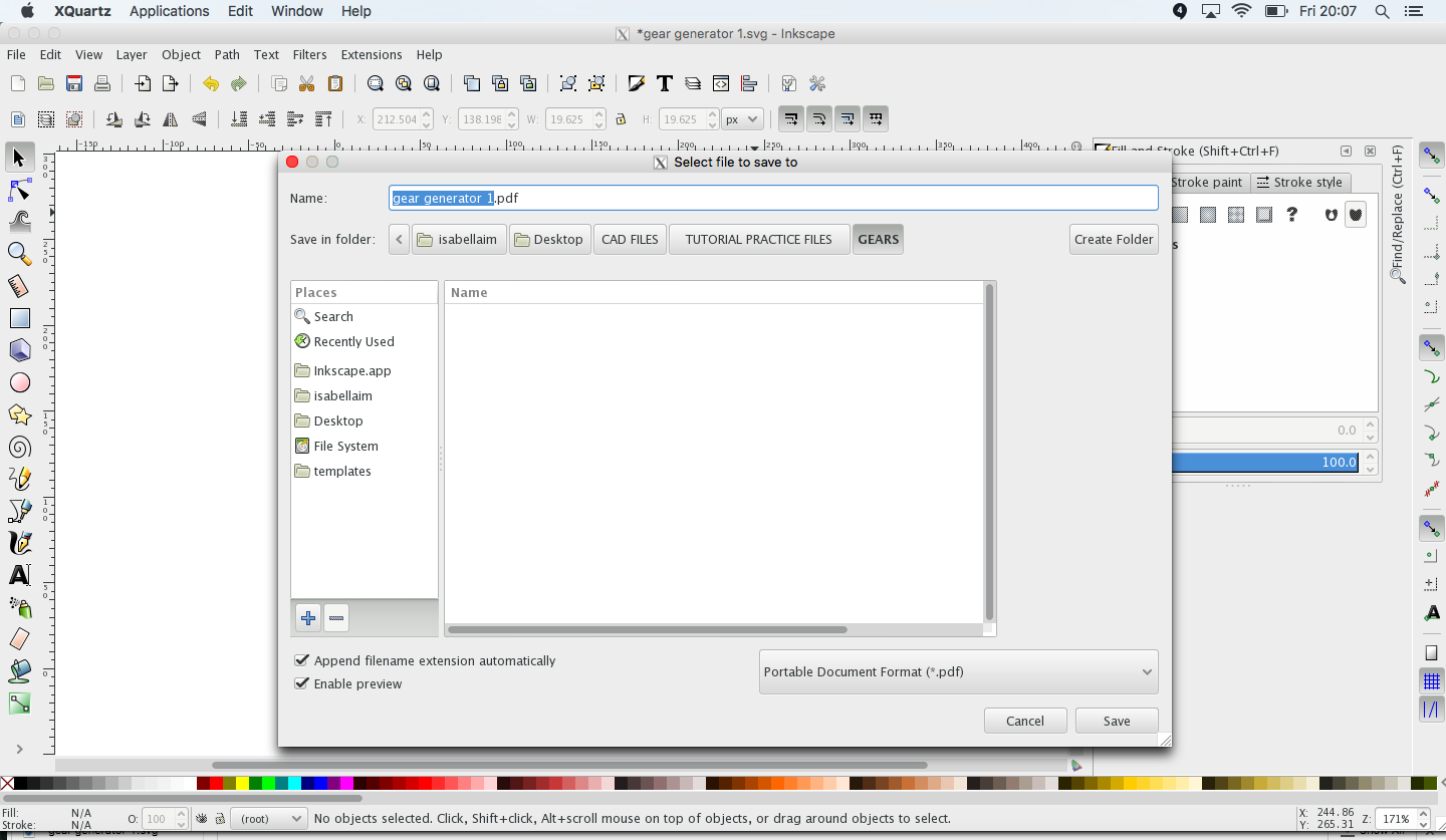 See The Stepbystep Procedure On How To Convert An Svg File To Pdf In  Inkscape,