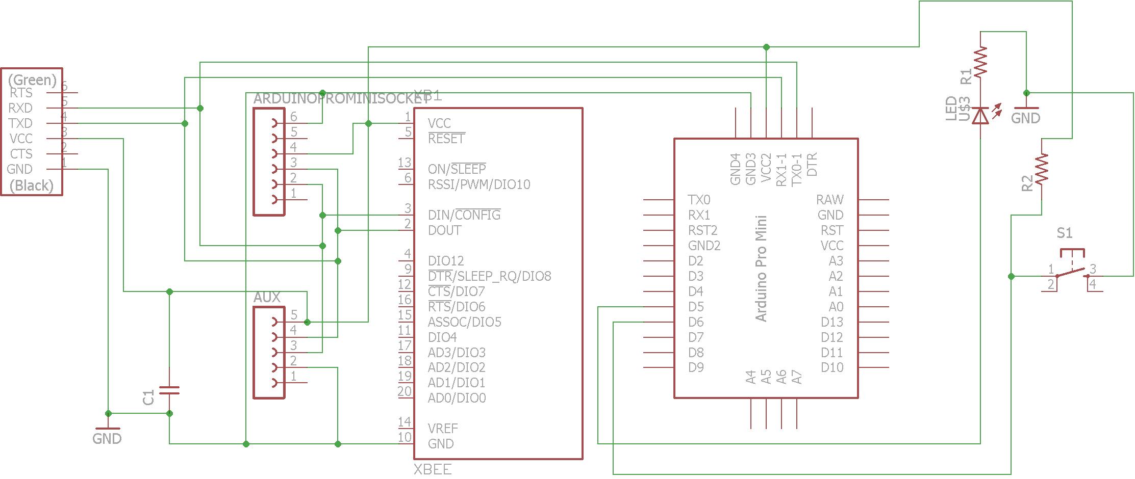 ignment15 Xbee Schematic Diagram on