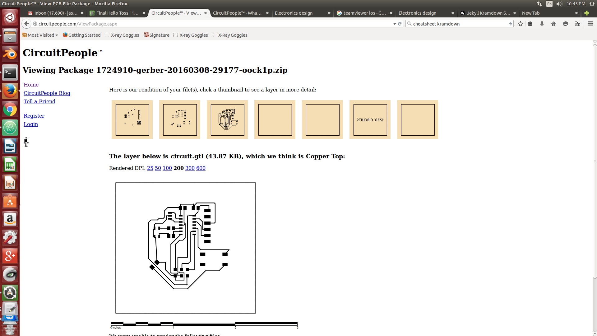 Electronics Design Gerber Files For Your Printed Circuit Board Online So Simple To Out