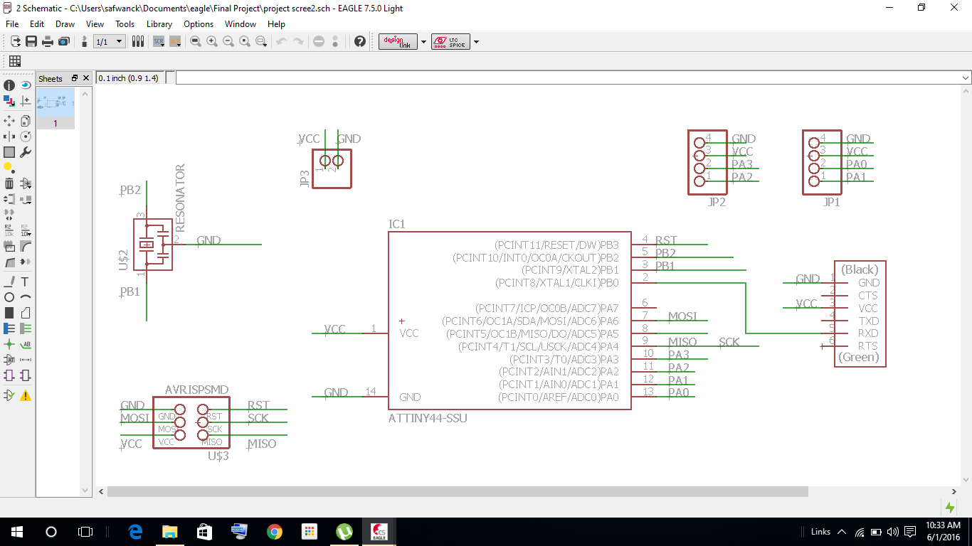 Week 19 Project Development Software To Draw Circuit Is Used Before The Design I Think Once Again What Are All Input And Output Connections Wanted From Microcontroller Schematic