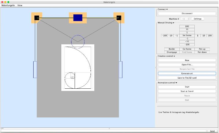 Image result for makelangelo drawbot interface