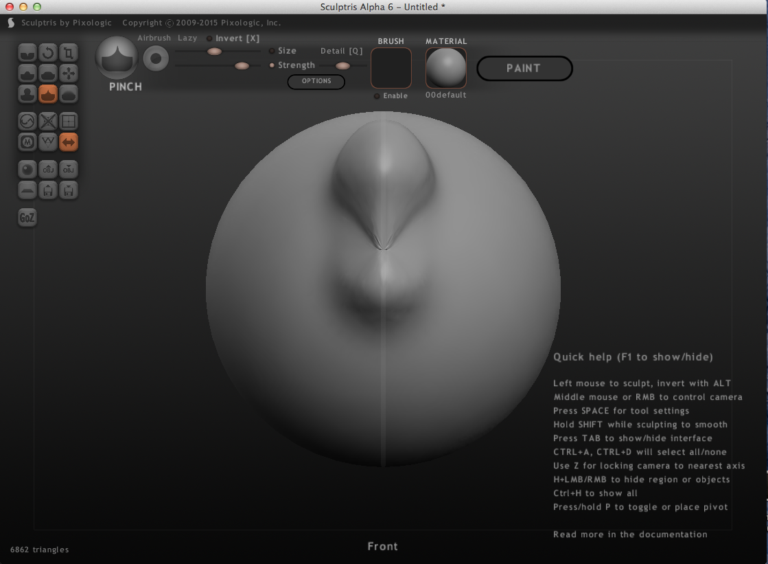 Freelancer Start Bootstrap Theme Repo Projects A Arduinopsychedeliclightorgan Images Power Stagepng I Started Exploring The Different Tools To Create Shape Of Shroom Software Is Called Sculptris Because It Similir Process Sculpting