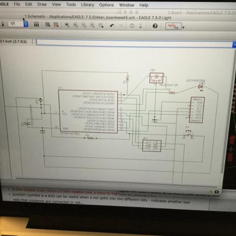 Electronics Design - Week 6