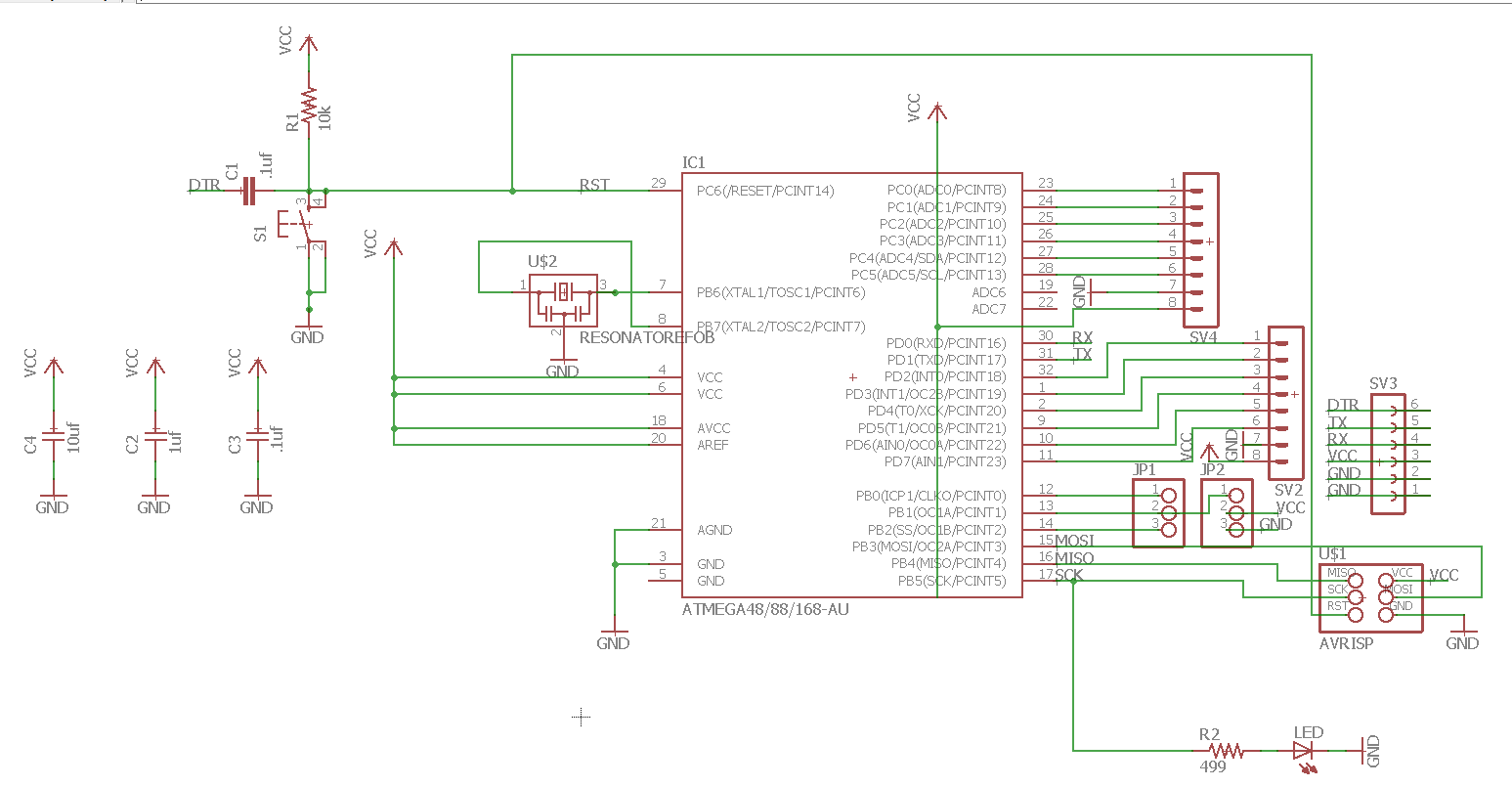 Final Project Arduino And Ds3231 Real Time Clock Circuit Schematics Created Pcb For Driving Servo Motor By Taking Input From Ds 3231 Rtc After Lot Of Research Analysis Online I Didnt Find Any