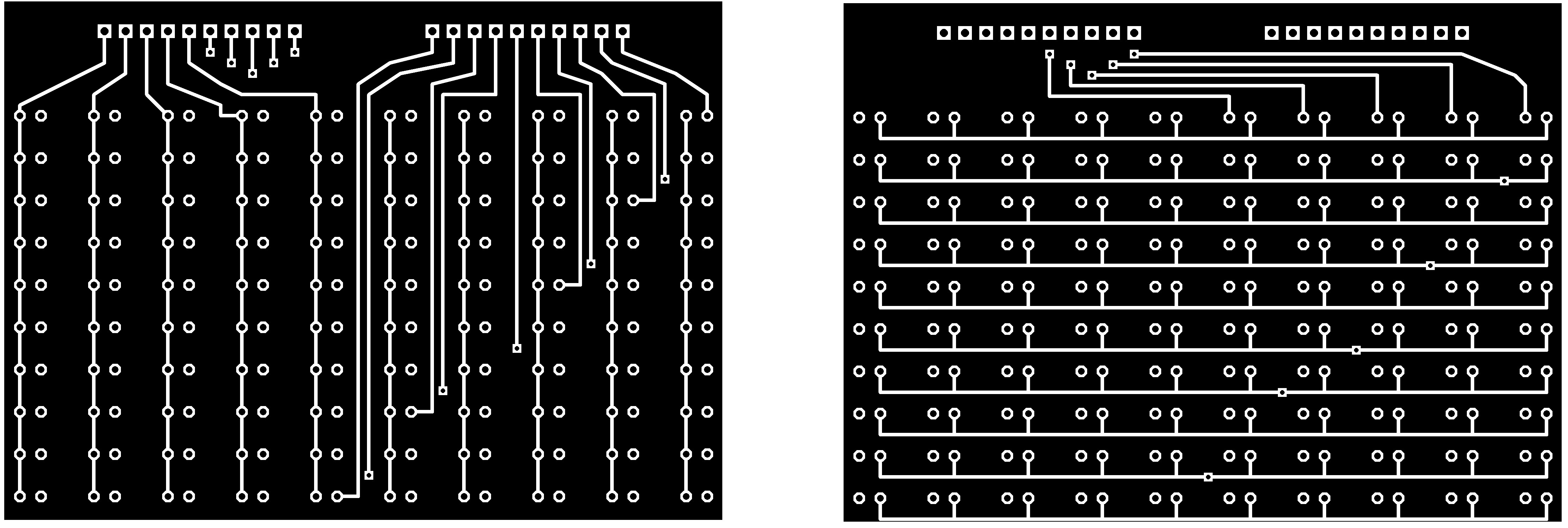 Index Smallledcircuitboardjpg The Merged Top And Bottom Layer Of Pcb With Leds Is Shown Below Connectors X Y In Schematic Electrical Signal Need To Be